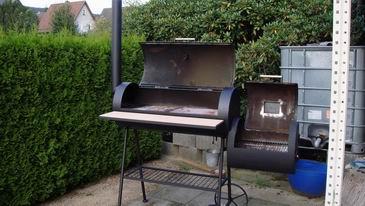 barbecue grill selber bauen affordable marshall edelstahl. Black Bedroom Furniture Sets. Home Design Ideas